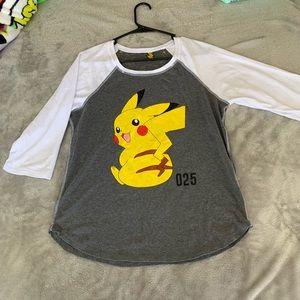 Pikachu Reversible Women's Long Sleeve T